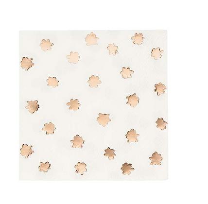 Party Porcelain Rose Gold Napkin