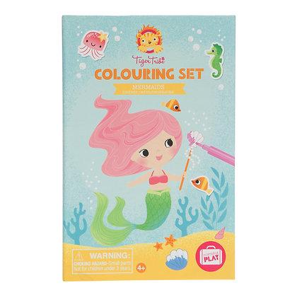 Colouring Set - Mermaids