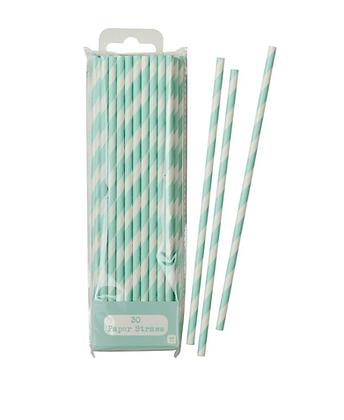Mix & Match Mint Straws