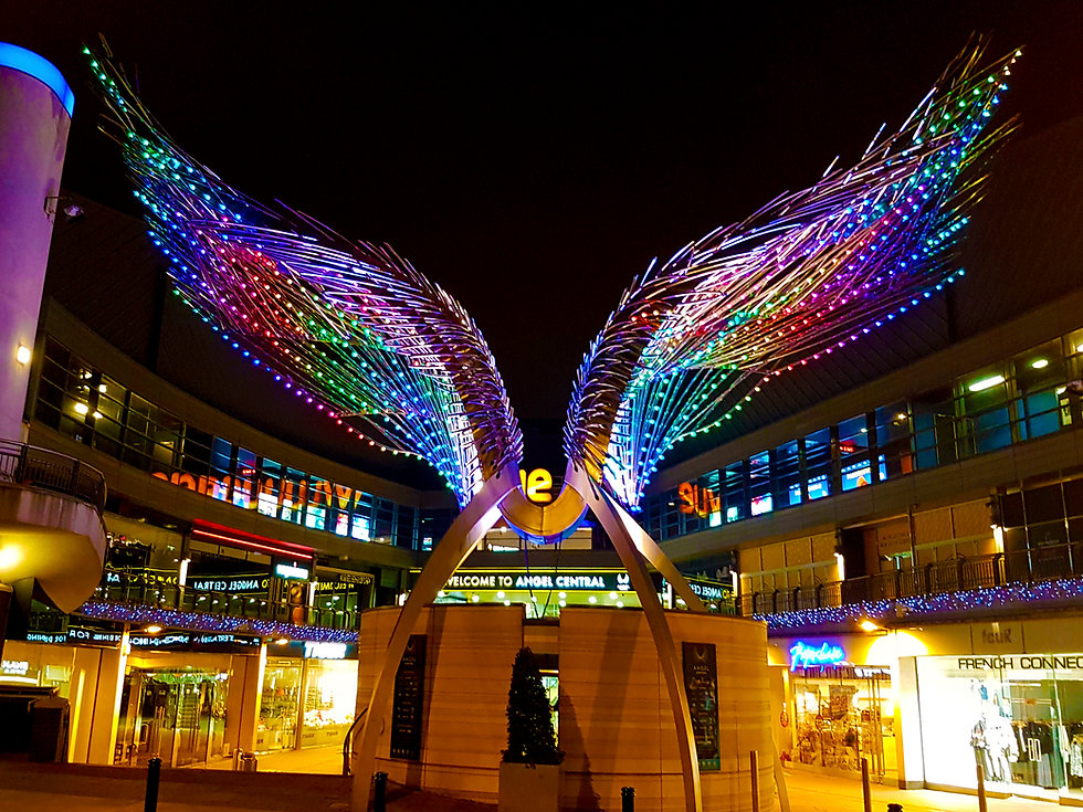 RGB Illuminated Sculpture