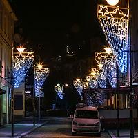 Illuminated Street Lamposts