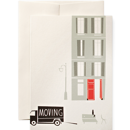 MOVING GREETING CARD