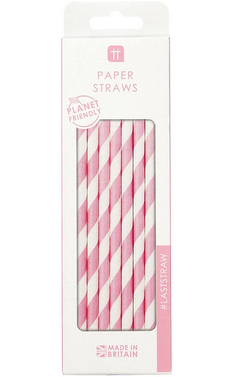 Mix & Match Pink Straws