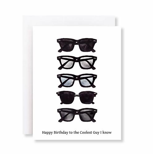 Coolest Guy Birthday Card