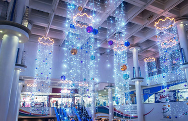 LED Light Curtain Chandeliers