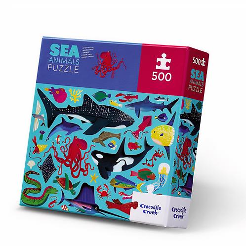 500-pc Boxed-Sea Animals