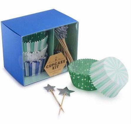 Blue Star Cupcake Kit