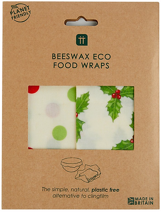 BOTANICAL HOLLY BEESWAX WRAPS 2 PACK