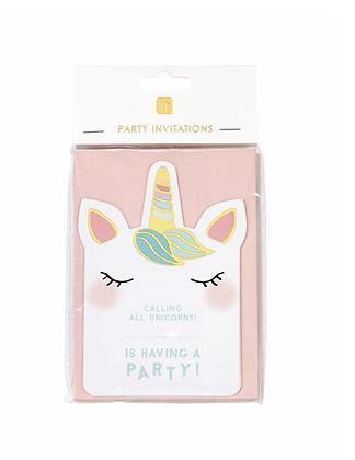 We Heart Unicorns Invitations
