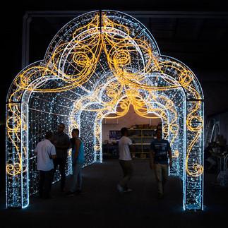 Illuminated Archway