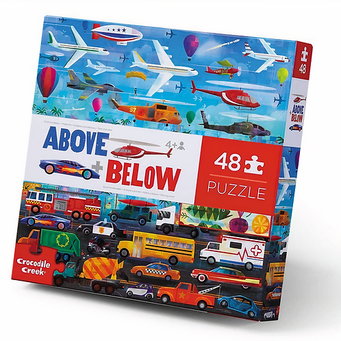 48-pc Above & Below-Things that Go
