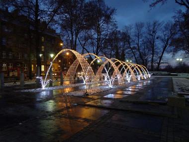 LED Fountain Arches