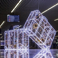 LED Suitcases