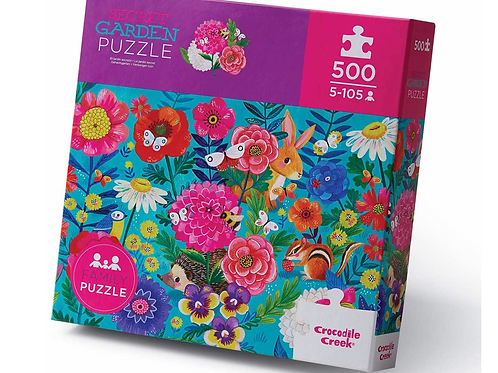 500-pc Boxed-Secret Garden