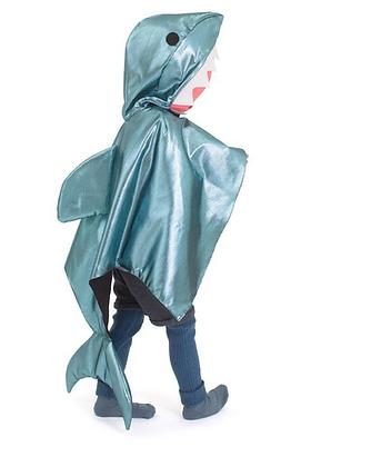 Shark Cape Dress Up Costume