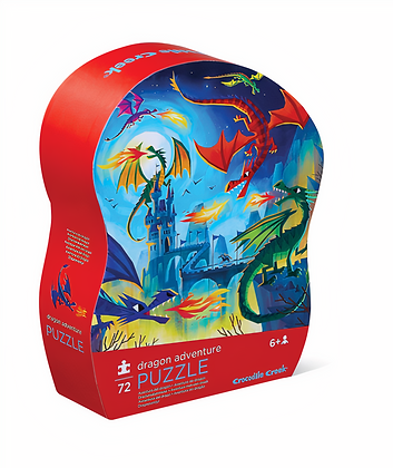 72-pc Puzzle-Dragon Adventure
