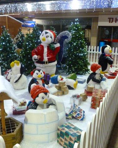 Penguin Igloo Builders