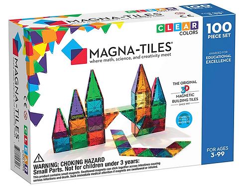 Magna-Tiles® Clear Colors 100-Piece SetMagna-Tiles® Clear Colors are translucent