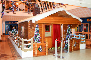 Real 'Half Log' Cabin