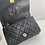 Thumbnail: AUTHENTIC CHANEL VINTAGE QUILTED MINI SINGLE FLAP IN BLACK