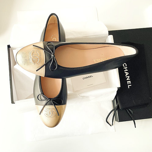 AUTHENTIC CHANEL CLASSIC BALLET FLAT