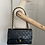 Thumbnail: AUTHENTIC CHANEL VINTAGE DOUBLE FLAP IN BLACK WITH GOLD HARDWARE