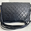 Thumbnail: AUTHENTIC CHANEL QUILTED VINTAGE FLAP LEATHER STRAP BAG