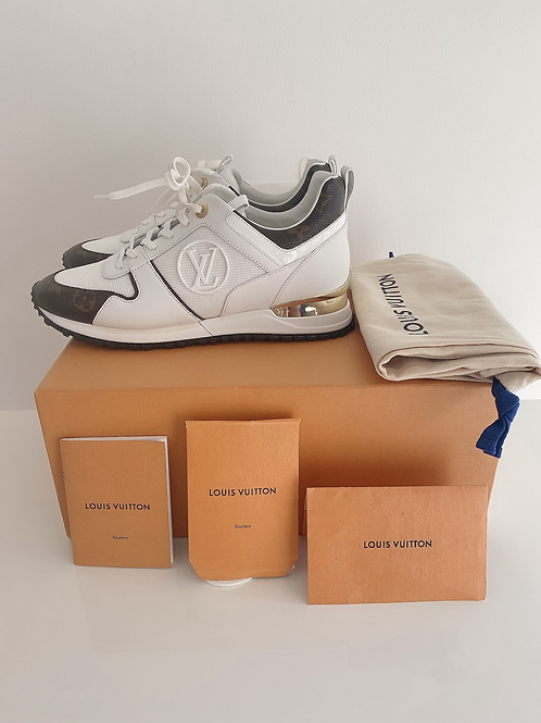 AUTHENTIC LOUIS VUITTON RUN AWAY TRAINERS