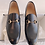 Thumbnail: AUTHENTIC GUCCI JORDAN LEATHER LOAFER