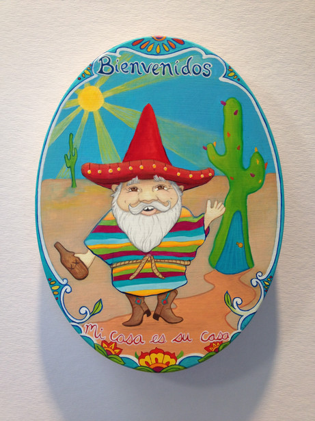 Mexican Welcoming Gnome