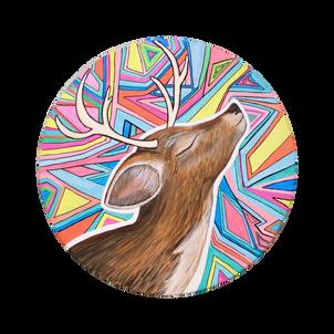 Psychedelic Deer