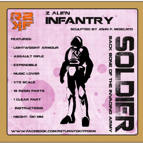 1/72 Z Alien Soldier - Infantry