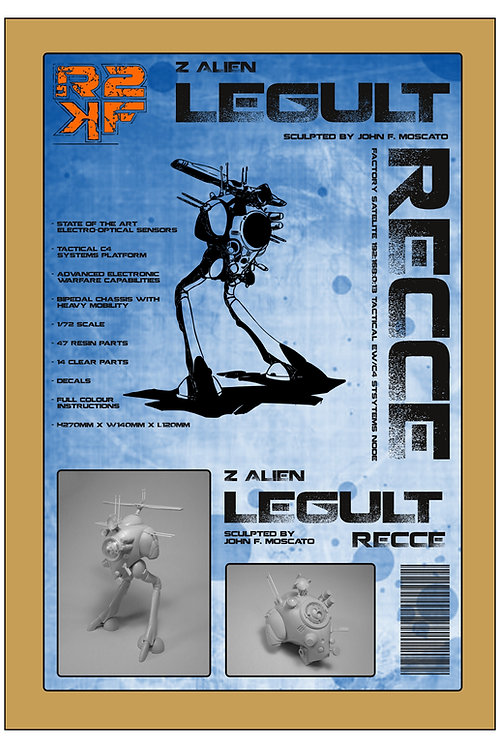 1/72 Z Alien Recce - Legult Pod Resin Kit