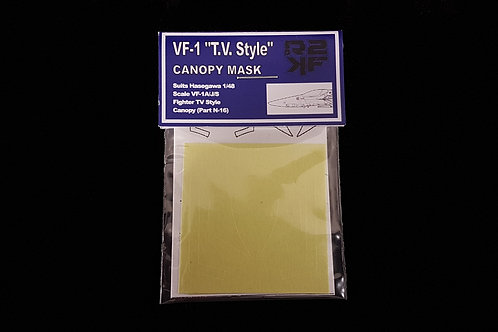 """1/48 VF-1A/J/S Canopy Mask for Hasegawa """"TV Style"""""""
