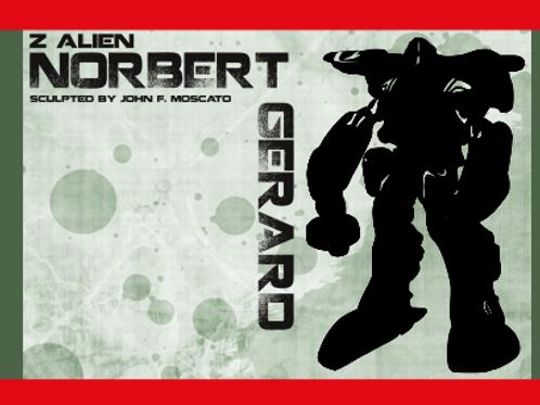 1/72 Z Alien Norbert Gerard - Powered Suit