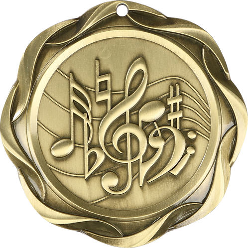 """Fusion Music Medal 3"""""""