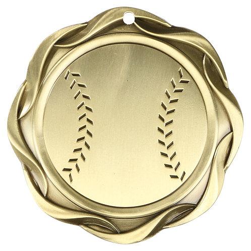 "Fusion Baseball Medal 3"""