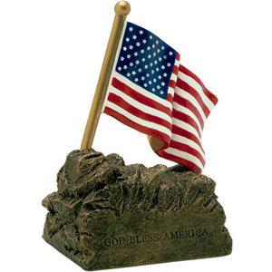 USA Flag Resin