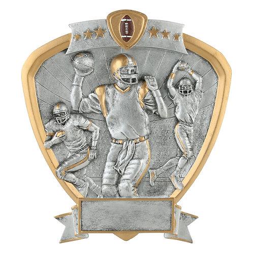 Football Shield Resin Plate