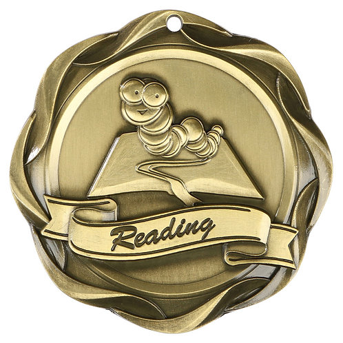 """Fusion Reading Medal 3"""""""