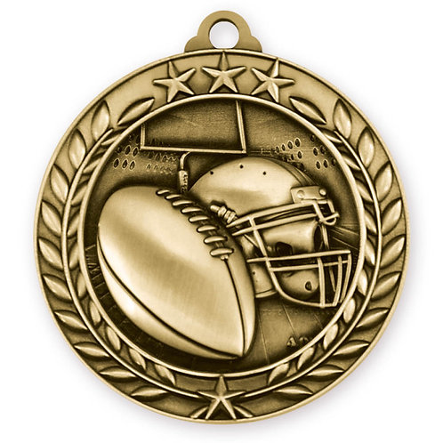 Wreath Medallion Football