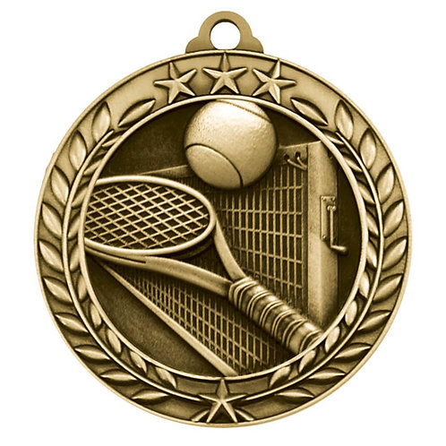Wreath Medallion Tennis