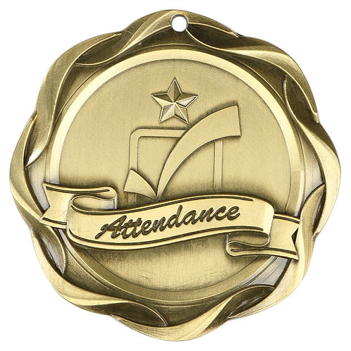 Fusion Attendance Medal 3""