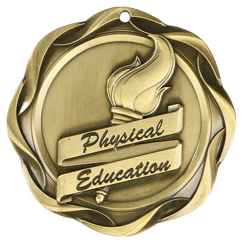 Fusion Physical Education Medal 3""