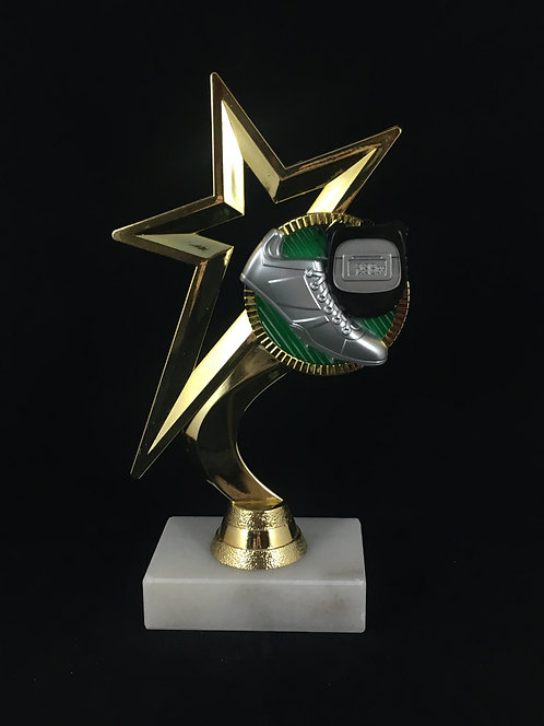 Track Star Gold Figure Trophy