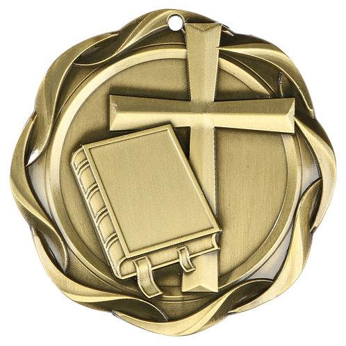 "Fusion Religion Medal 3"""