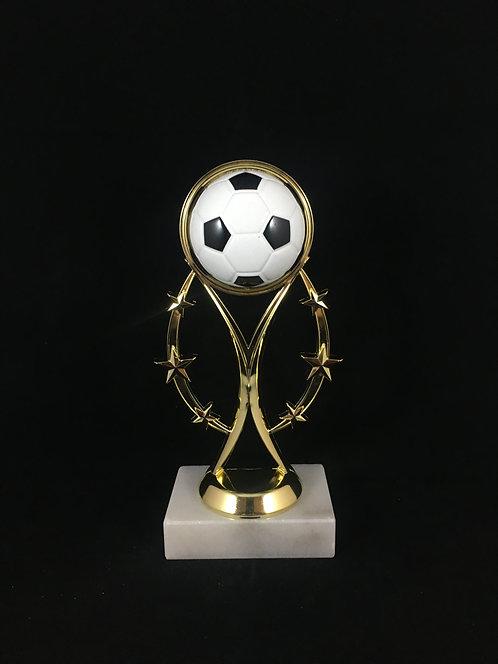 Soccer Ball Gold Figure Trophy