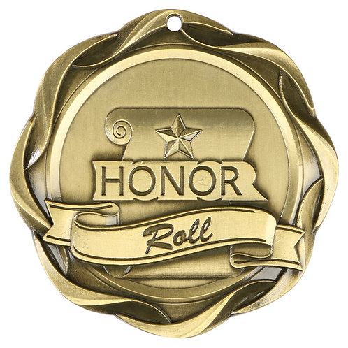 Fusion Honor Roll Medal 3""