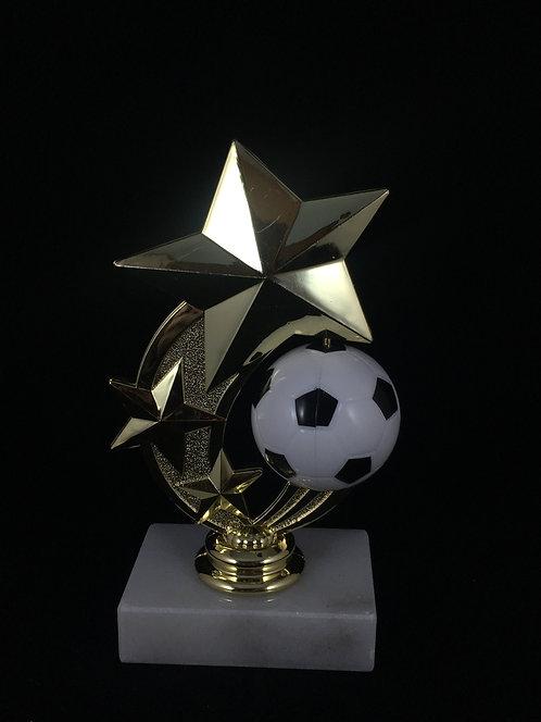Soccer Spinner Gold Figure Trophy