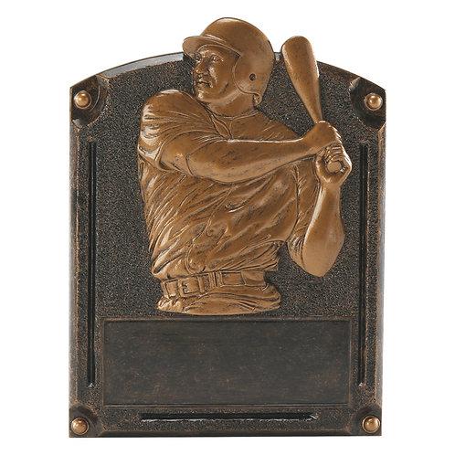 Legends of Fame Baseball Resin Plate
